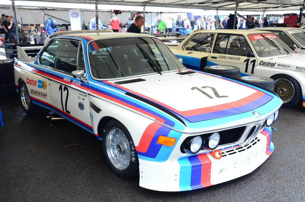 BBS alloy wheel fitted to BMW 3.0 CSL racing car_Hagerty