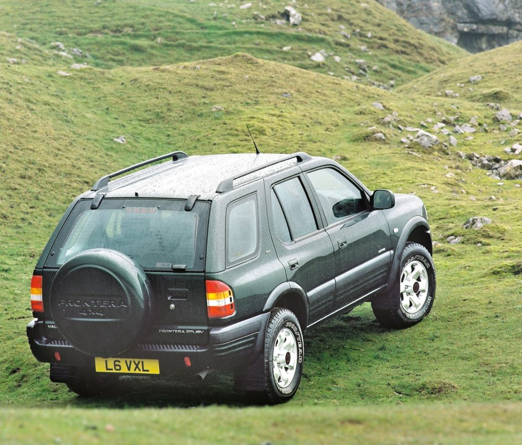 Unexceptional Classic Cars_Vauxhall Frontera_Giles Chapman_Hagerty