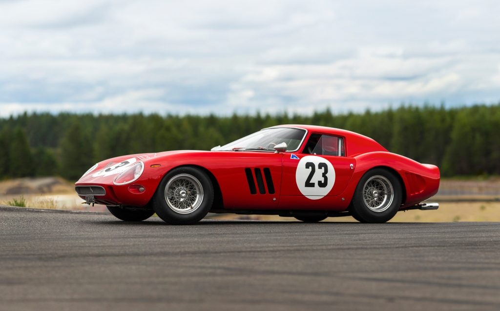 An original Ferrari 250 GTO
