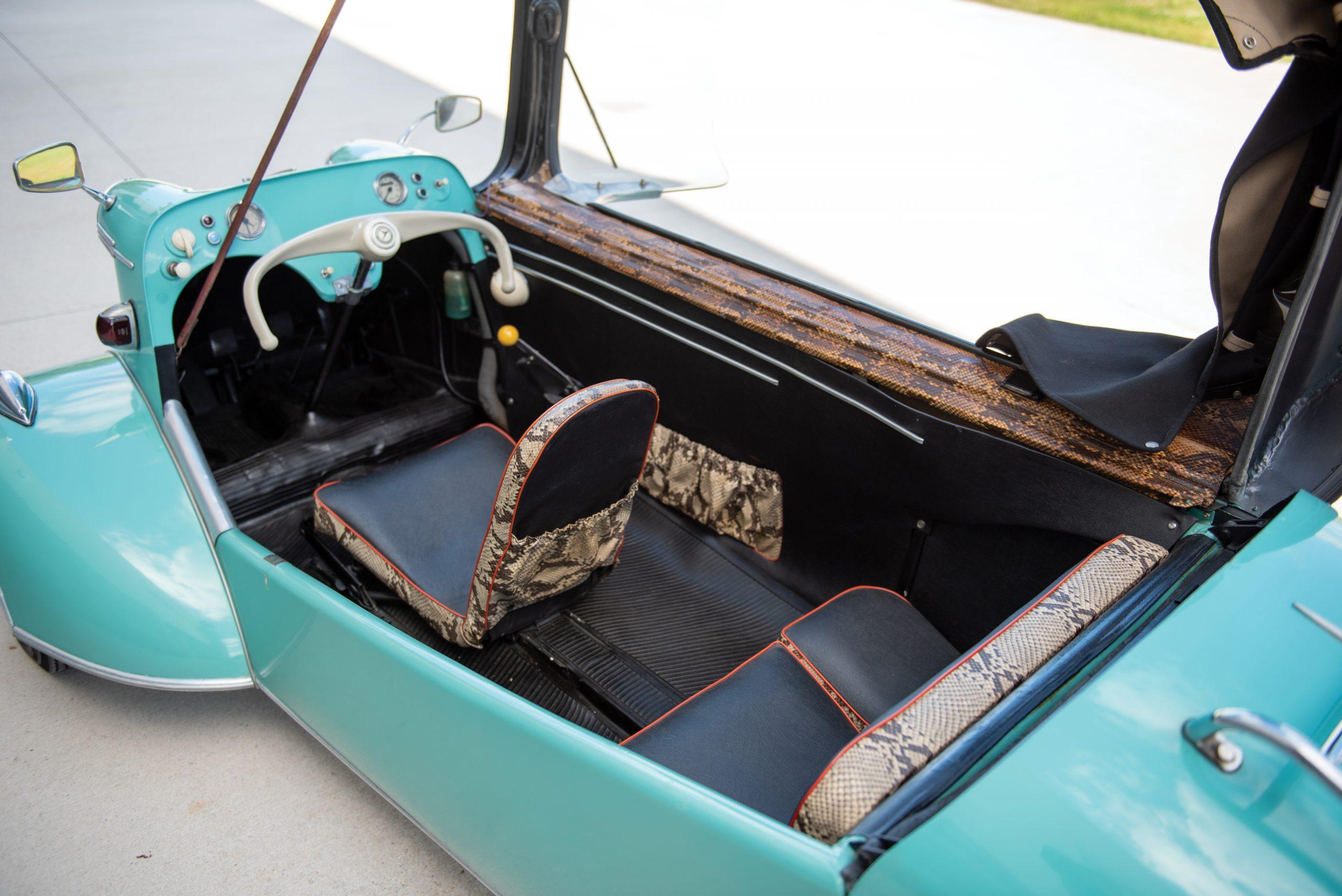 1958-Messerschmitt-KR-201-Roadster cockpit_Hagerty