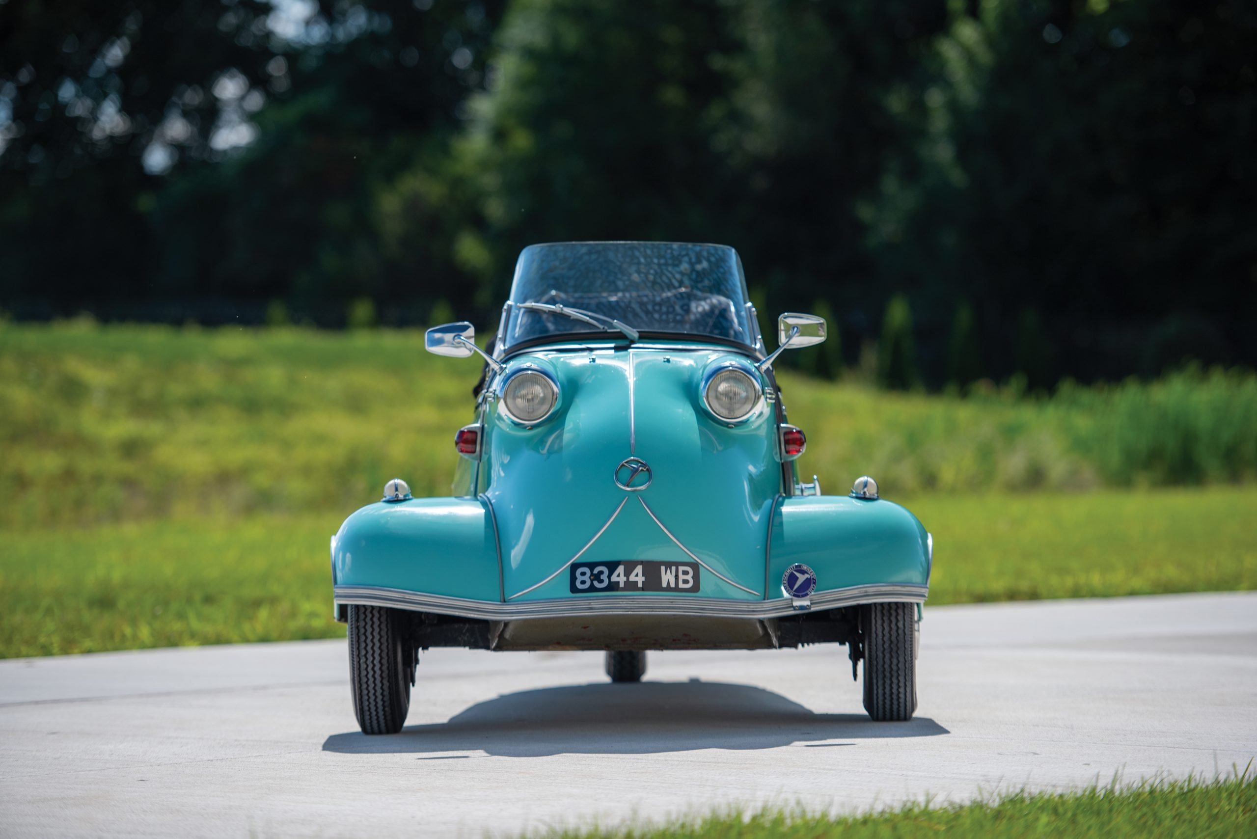 A flight of tiny Messerschmitt microcars could be yours