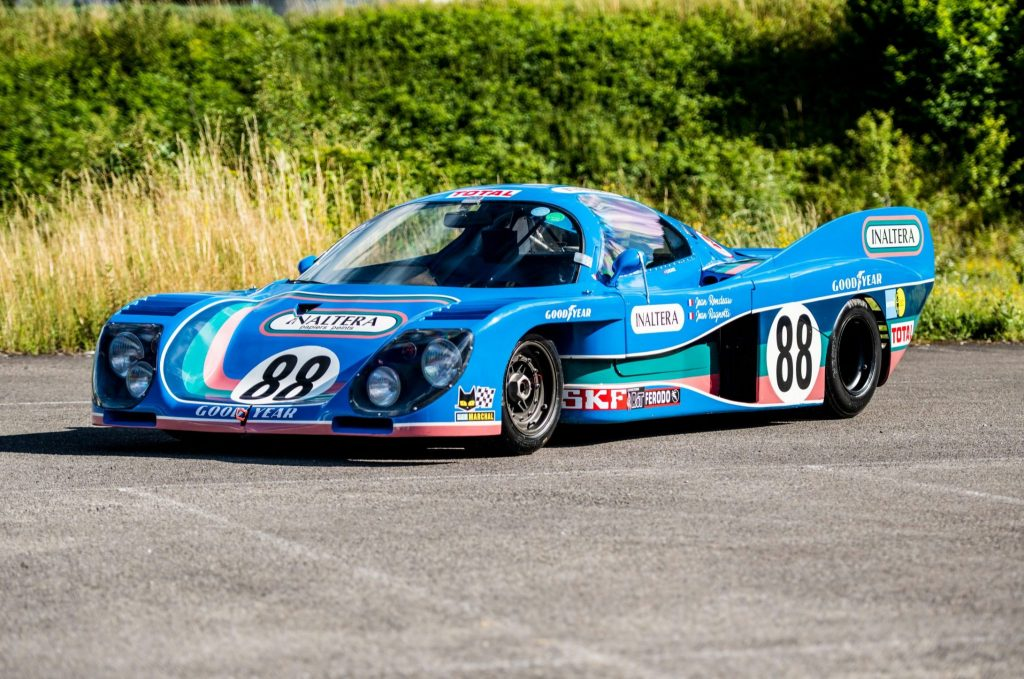 1976 Inaltera GTP Cosworth