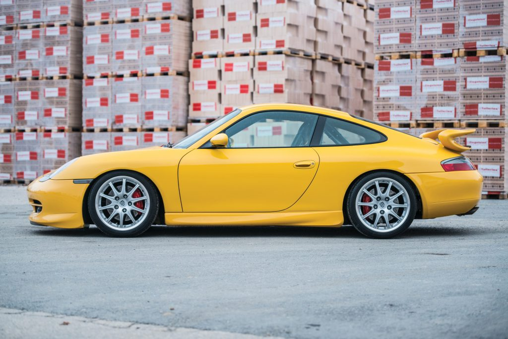 The Porsche 911 GT3 996 featured BBS alloy wheels_Hagerty