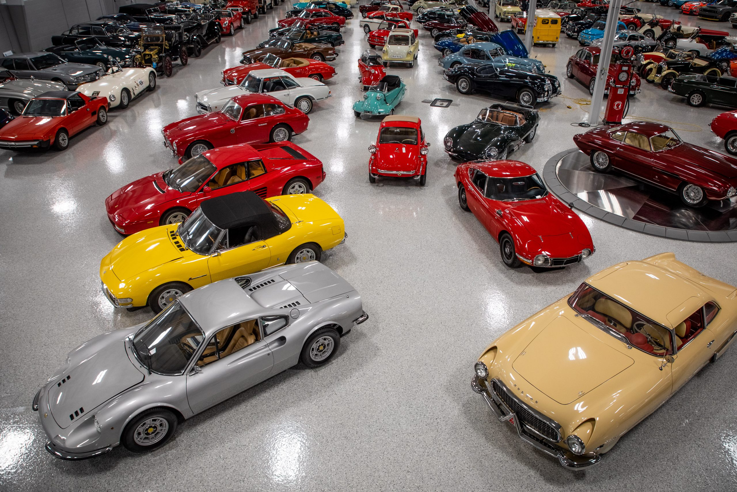 The Elkhart Collection is a dizzying whirlwind of automotive treasures