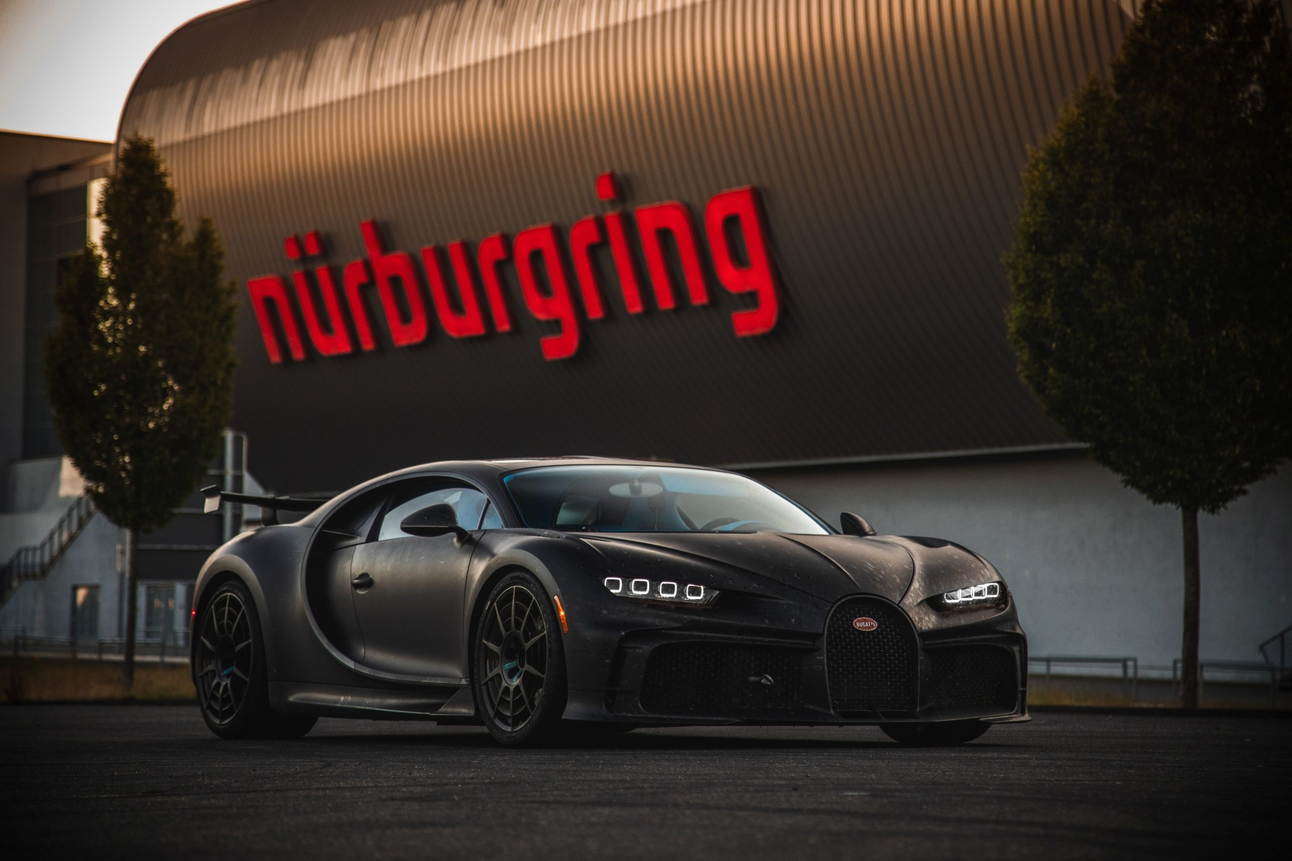 Gridlock at The Nürburgring as BMW, Bugatti, and AMG test latest sports cars