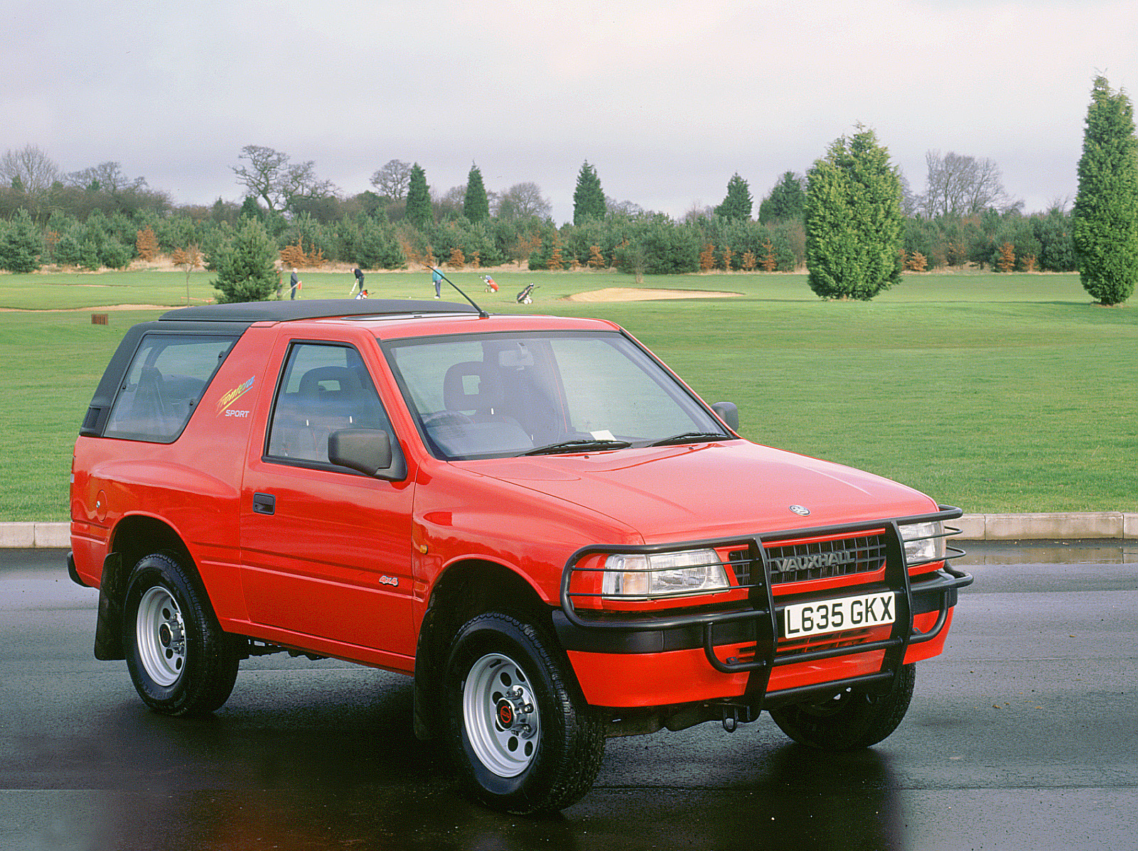 The Vauxhall Frontera was bulky, crude and heavy –and those were its good points