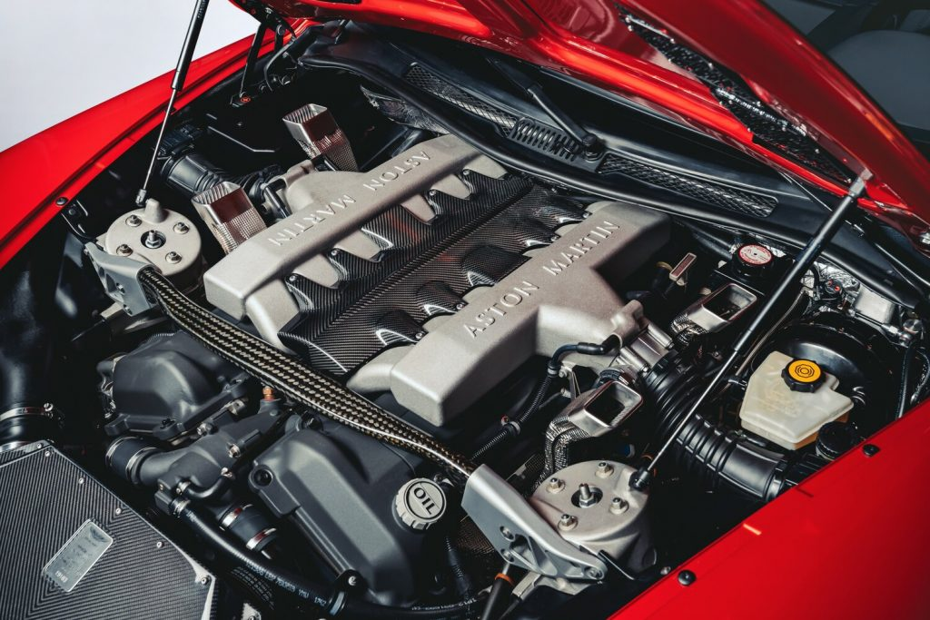 The V12 of the Vanquish 25 has been tuned to 580bhp_Hagerty