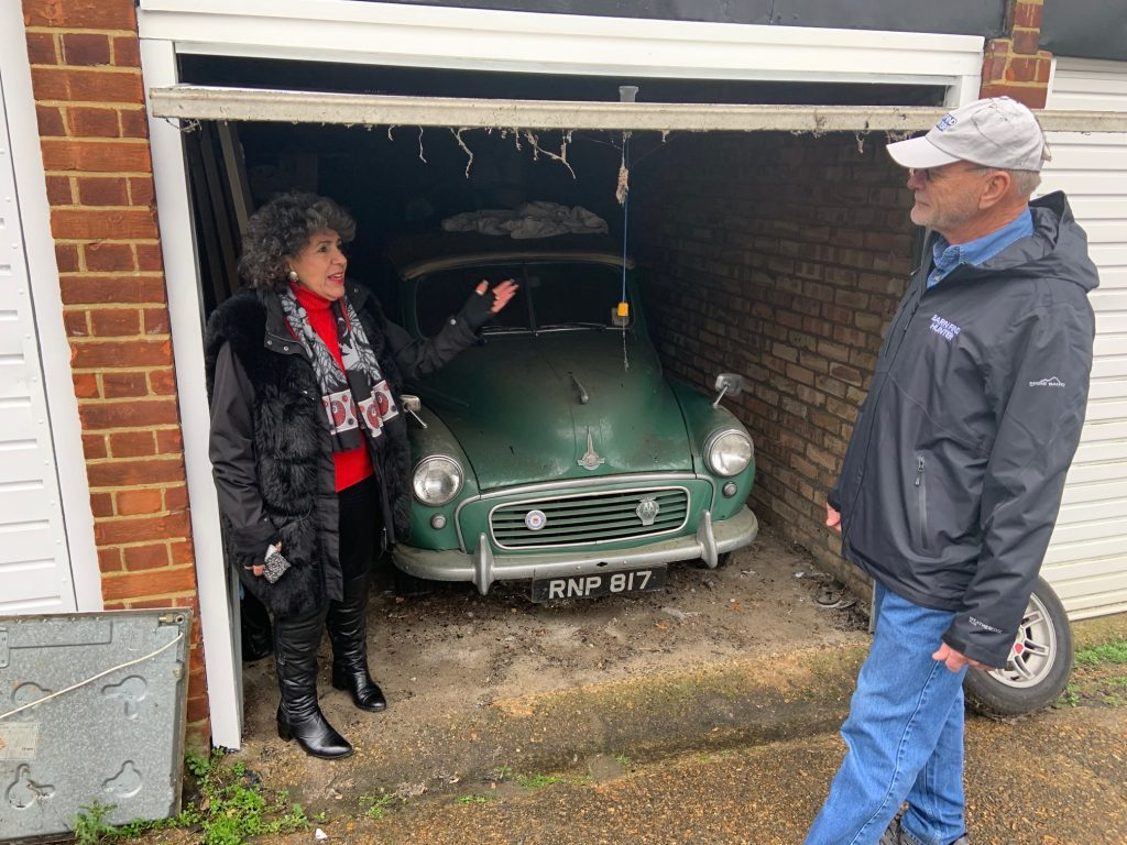 Tom Cotter uncovers a Morris Minor Convertible in the UK_Hagerty