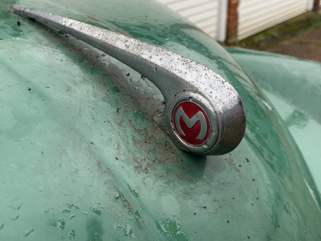 Tom Cotter uncovers a Morris Minor Convertible split screen in the UK_Hagerty