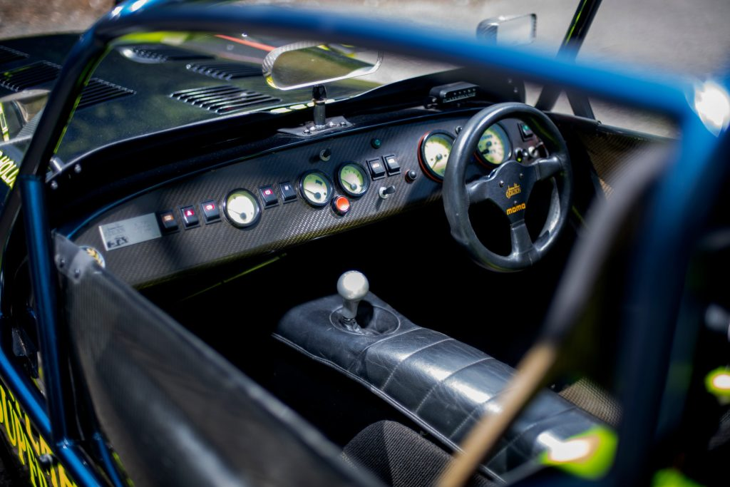 Caterham 7 JPE review_cockpit shot_Hagerty