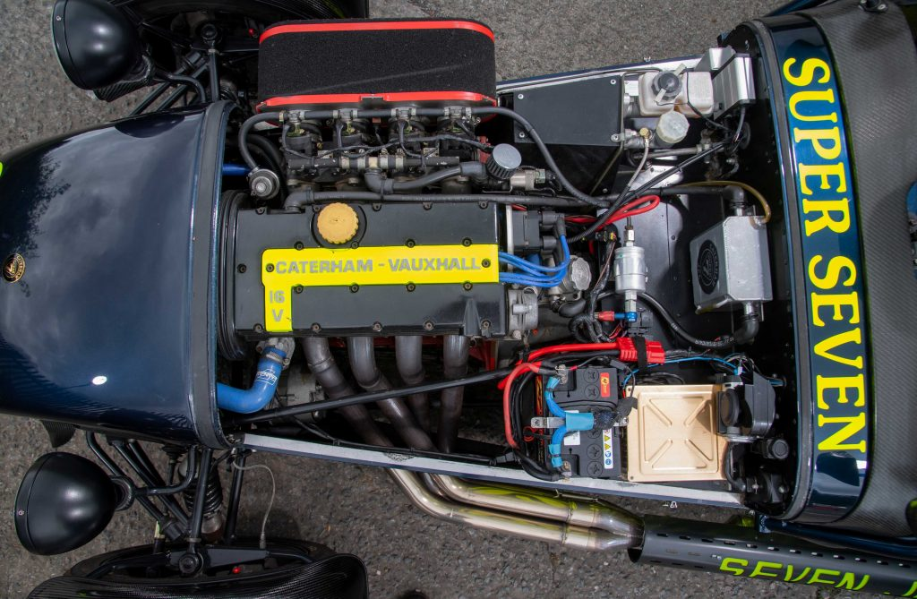 Caterham 7 JPE review_engine shot_Hagerty