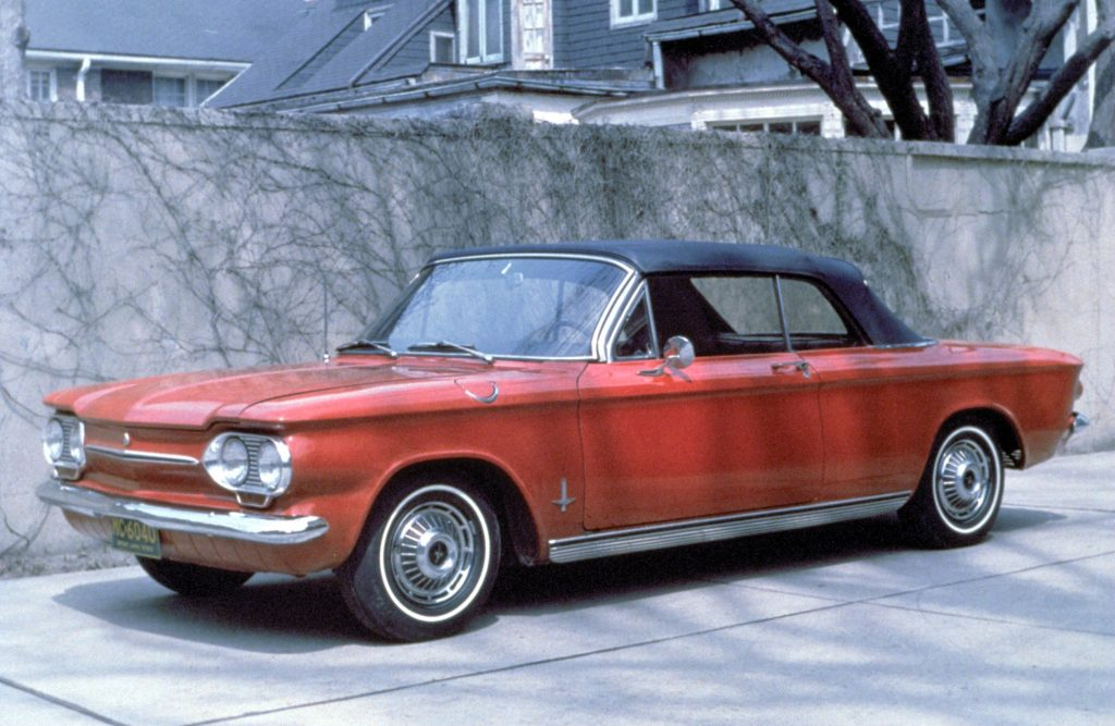 1960 Chevrolet Corvair. GM: A Century of Innovation_Hagerty