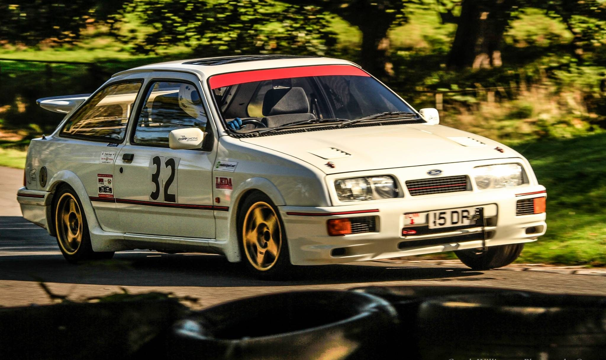 Me and my Ford Sierra Cosworth