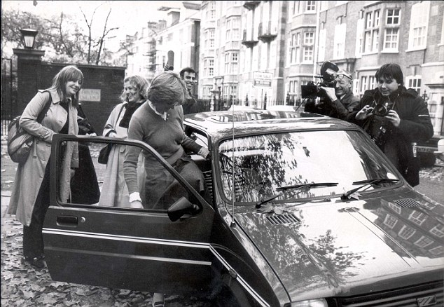 Lady Diana Spencer with Austin mini Metro_Hagerty
