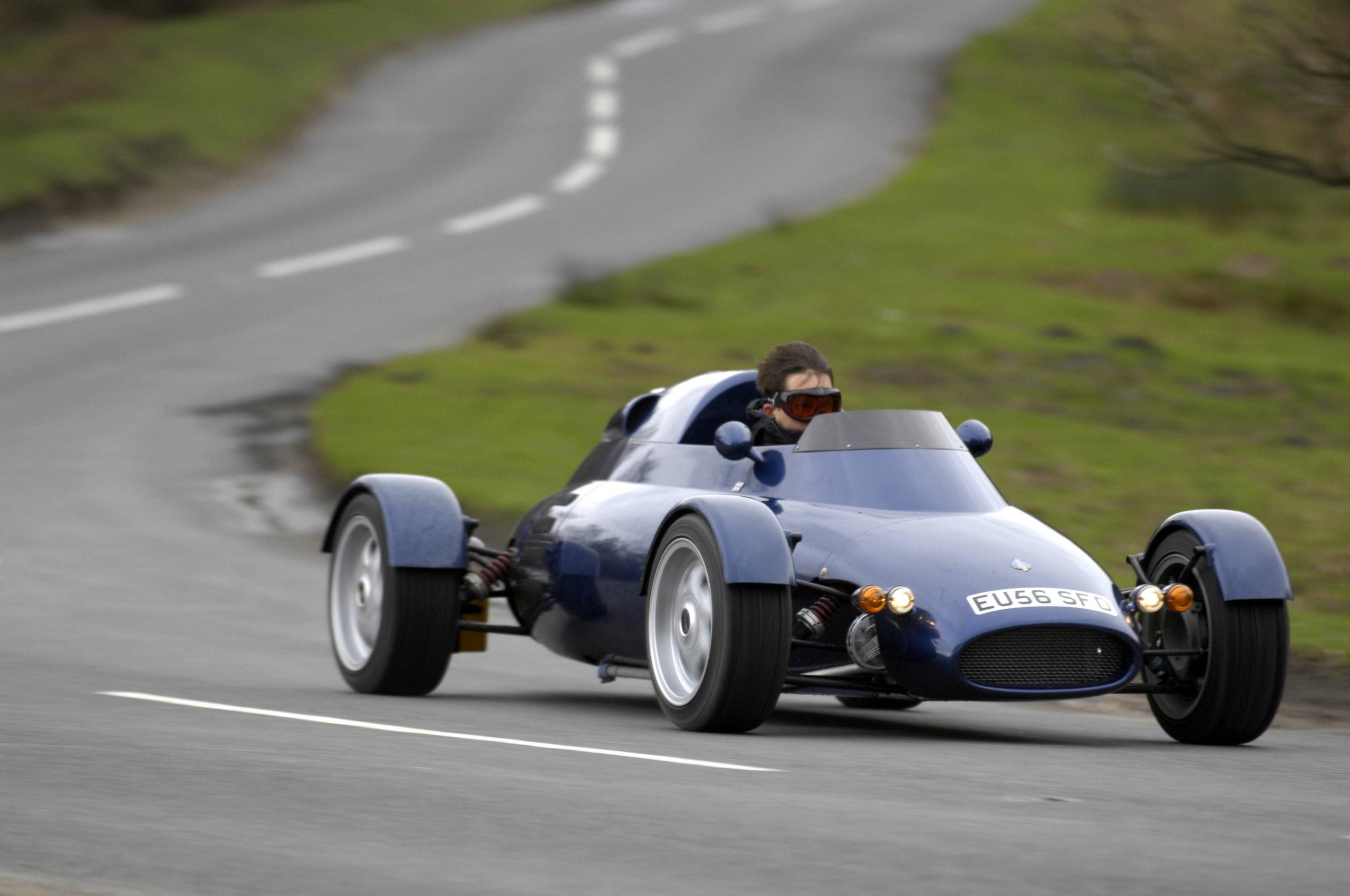 Driving the Light Car Company Rocket –Gordon Murray's original hypercar