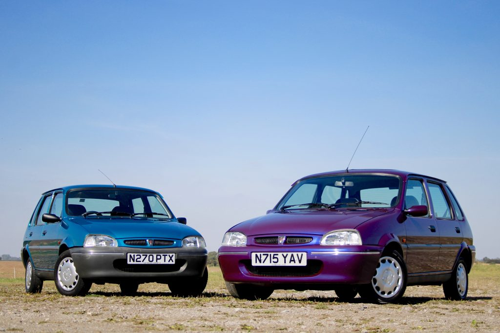 The Rover 100 updated from the Austin Metro_40 years of the Metro_Hagerty