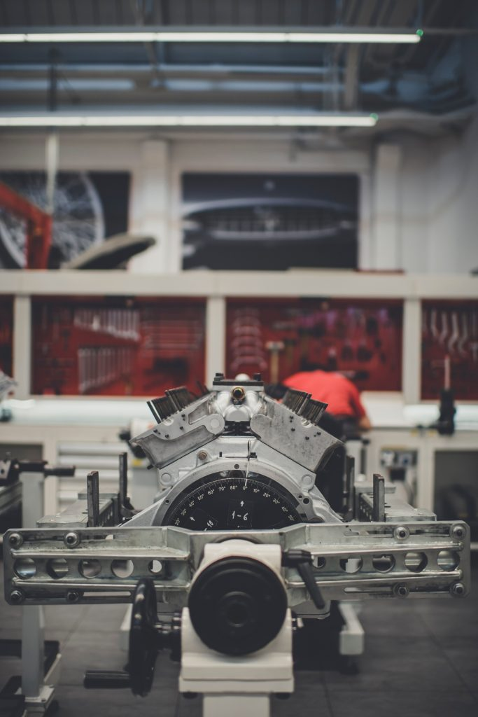 An engine rebuild underway at Ferrari Classiche_Hagerty