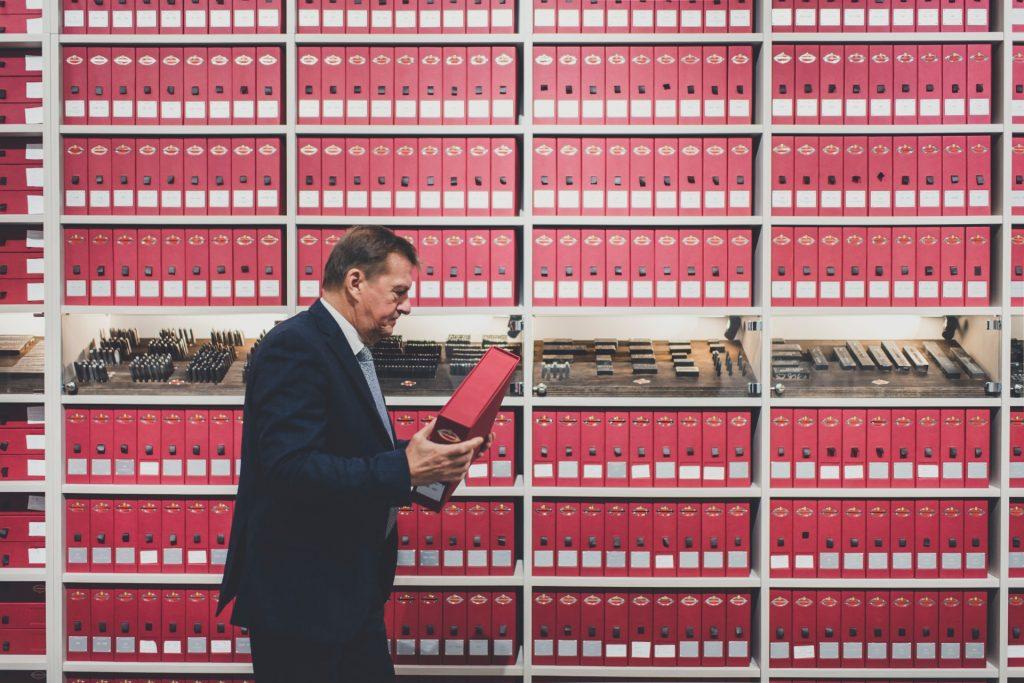 Inside the records room of Ferrari Classiche_Hagerty