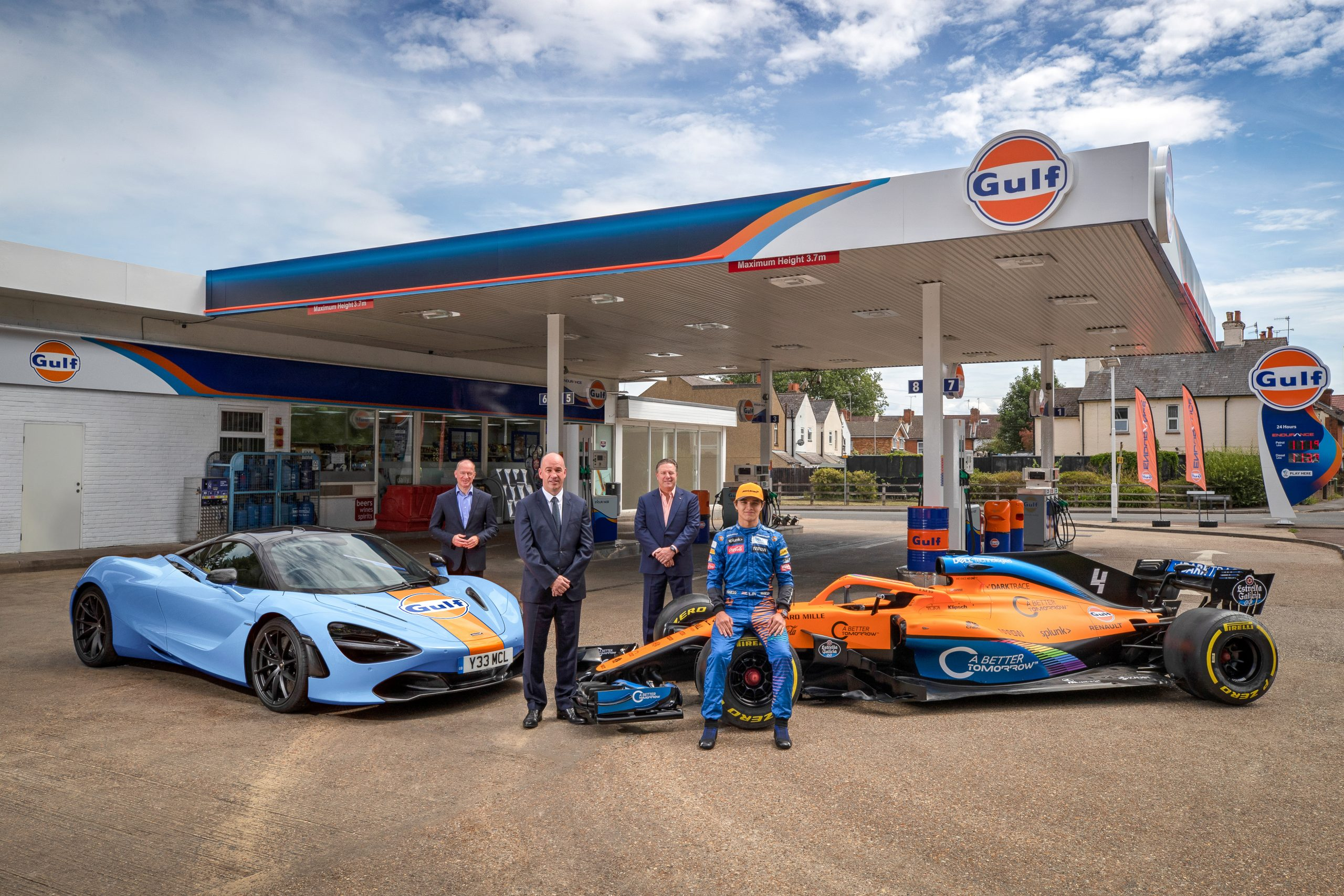 McLaren and Gulf Oil reunite for road and racing