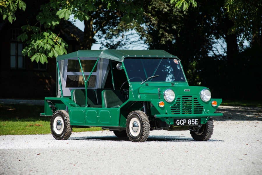 1974 Mini Moke Silverstone Auctions_Hagerty