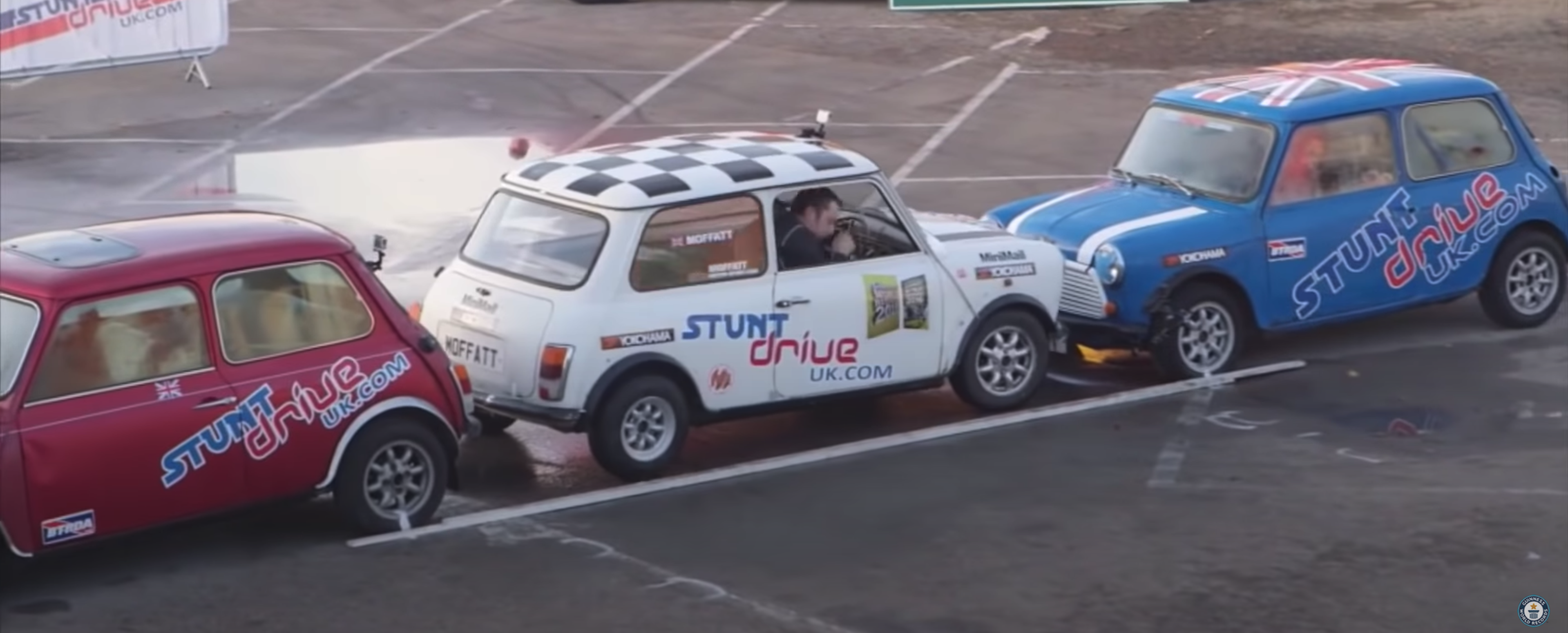 So you think you can parallel park? Watch this and think again
