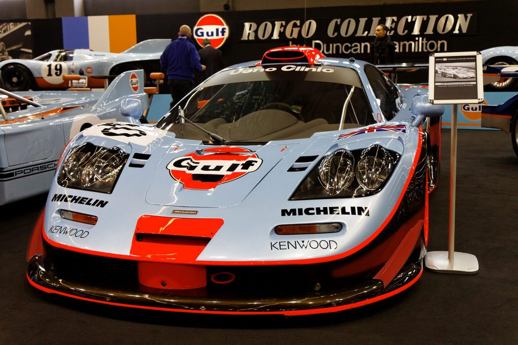 McLaren F1 GTR Le Mans winning car_Hagerty