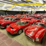 Take a tour of the Red Room, the crimson jewel of the Haynes Motor Museum_Hagerty