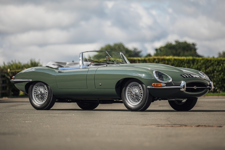 1961 Jaugaru E-Type Roadster owned by Steve Coogan_Hagerty