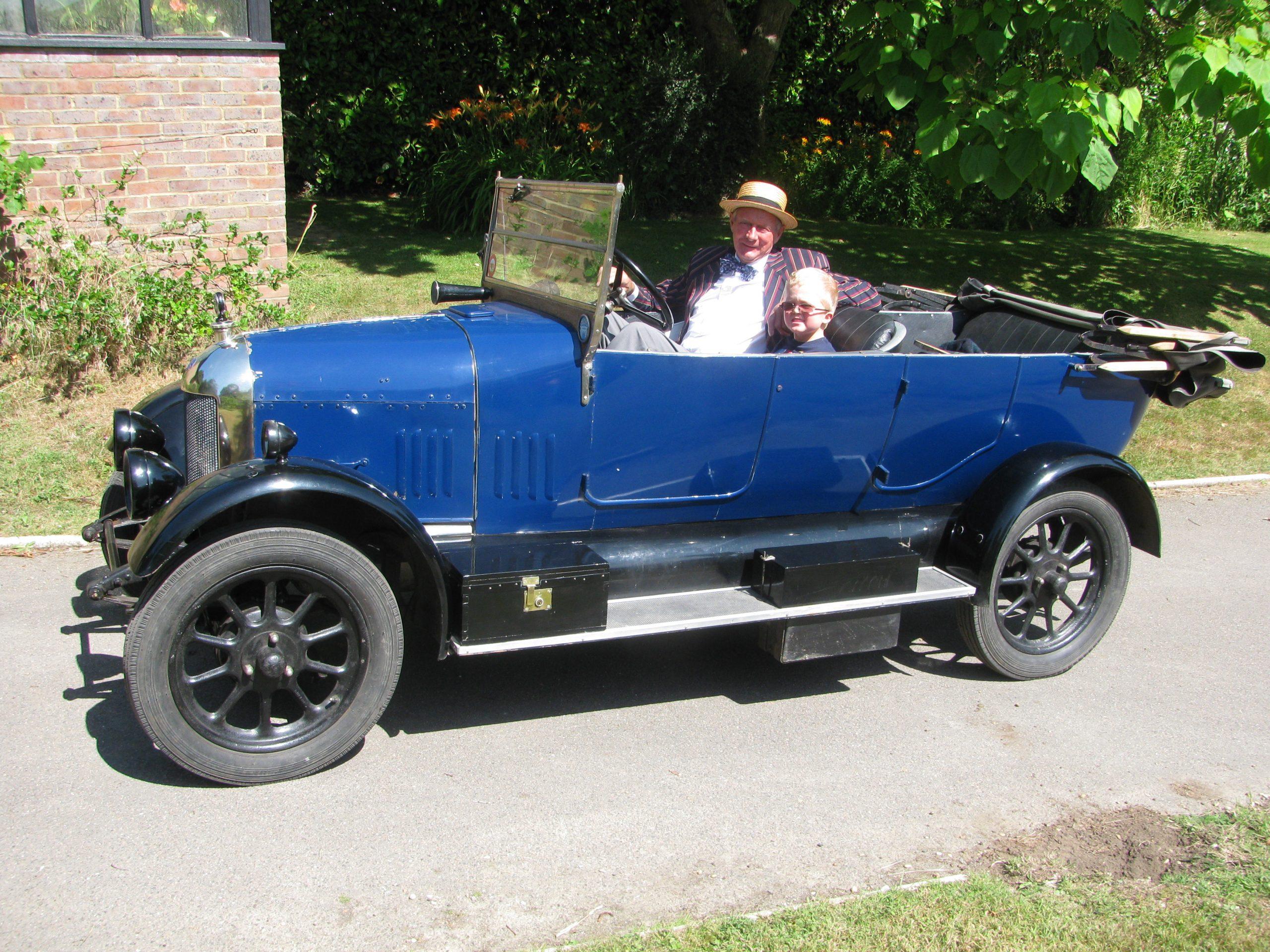 Me and my 1925 Morris Cowley Bullnose