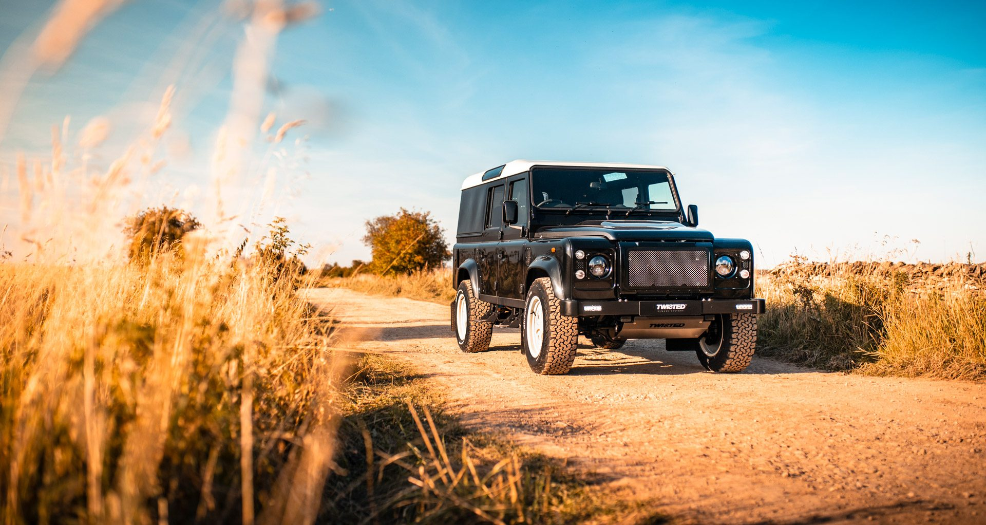 Twisted transforms the Defender into an electric 4x4