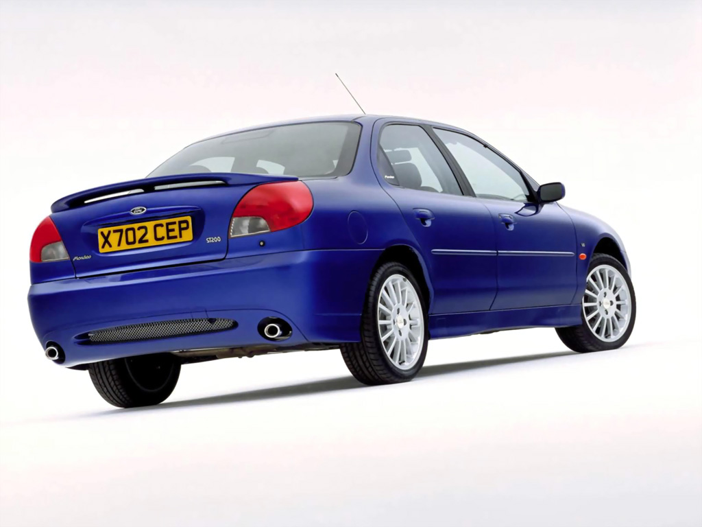 Ford Mondeo ST200_Top 10 fast Fords that are affordable future classics