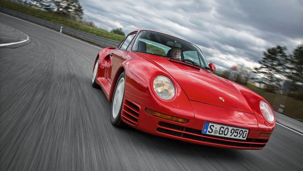 Gavin Green remembers when he tested the Porsche 959 against the Ferrari F40_Hagerty stories