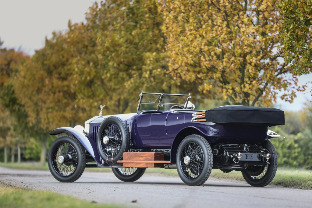 1919 Rolls-Royce 40/50 HP Silver Ghost Alpine Eagle Tourer at Gooding & Co Passion of a Lifetime auction