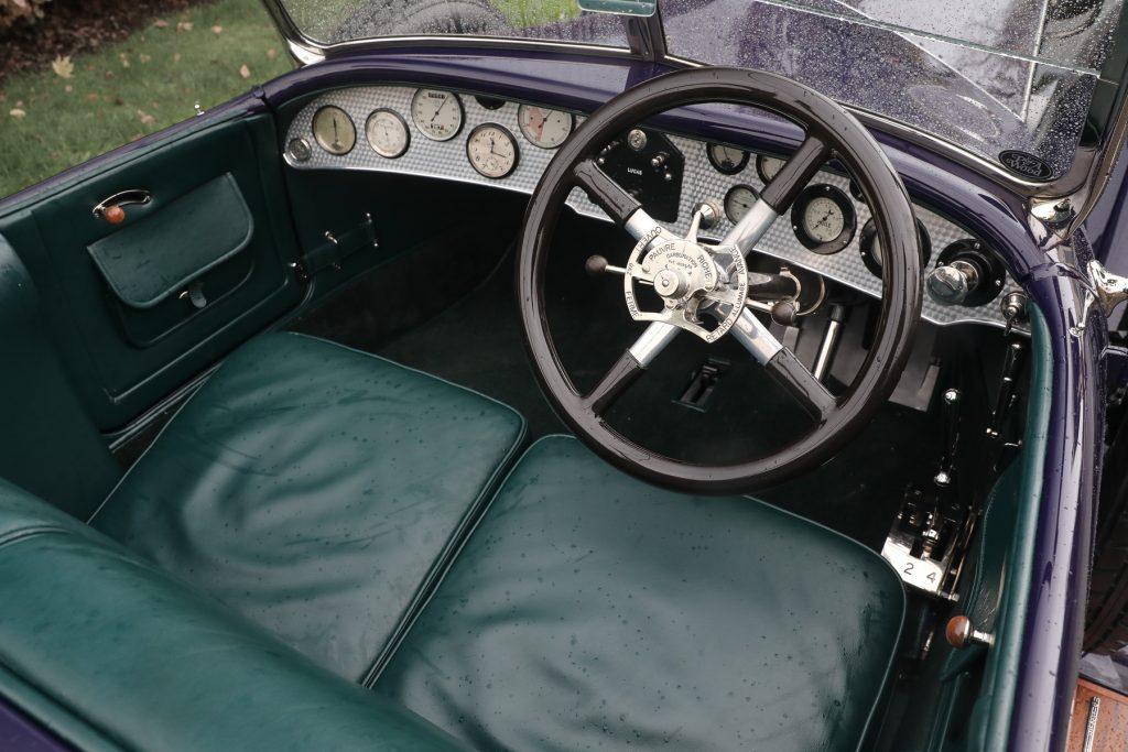 1919 Rolls-Royce 40/50 HP Silver Ghost Alpine Eagle Tourer cabin