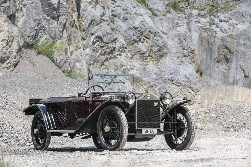 1924 Lancia Lambda 3rd Series Torpédo at Gooding & Co auction