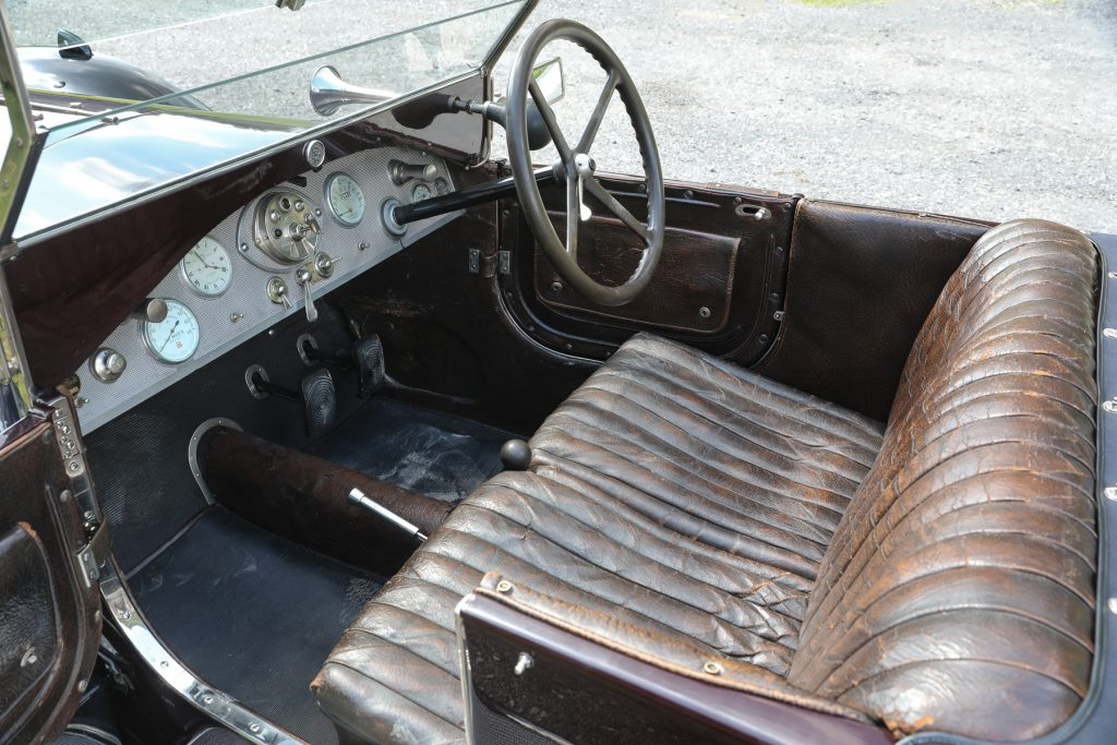 1924 Lancia Lambda 3rd Series Torpédo cabin