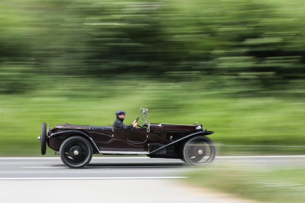 1924 Lancia Lambda 3rd Series Torpédo at Gooding & Co auction
