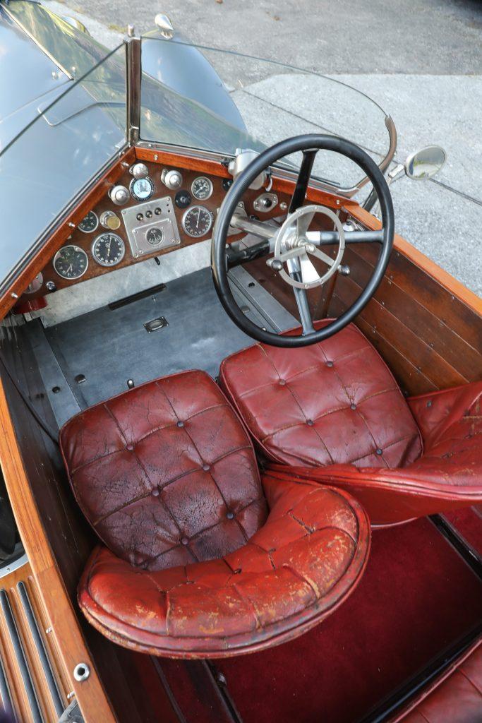 1924 Vauxhall 30-98 OE-Type Wensum cabin