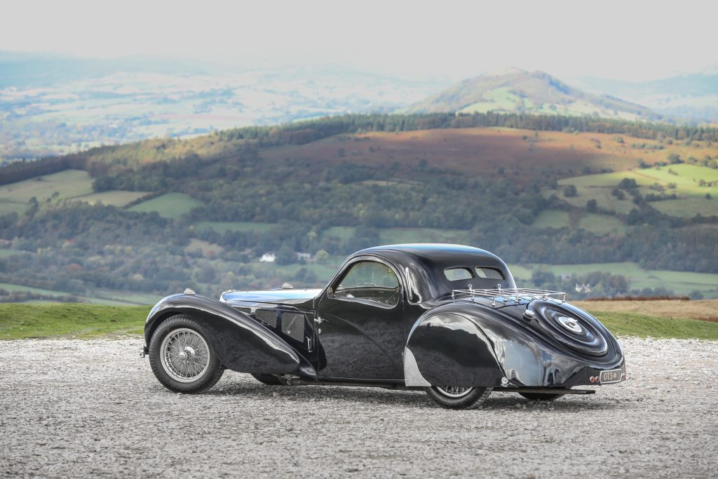 1937 Bugatti Type 57S Atalante at Gooding & Co auction