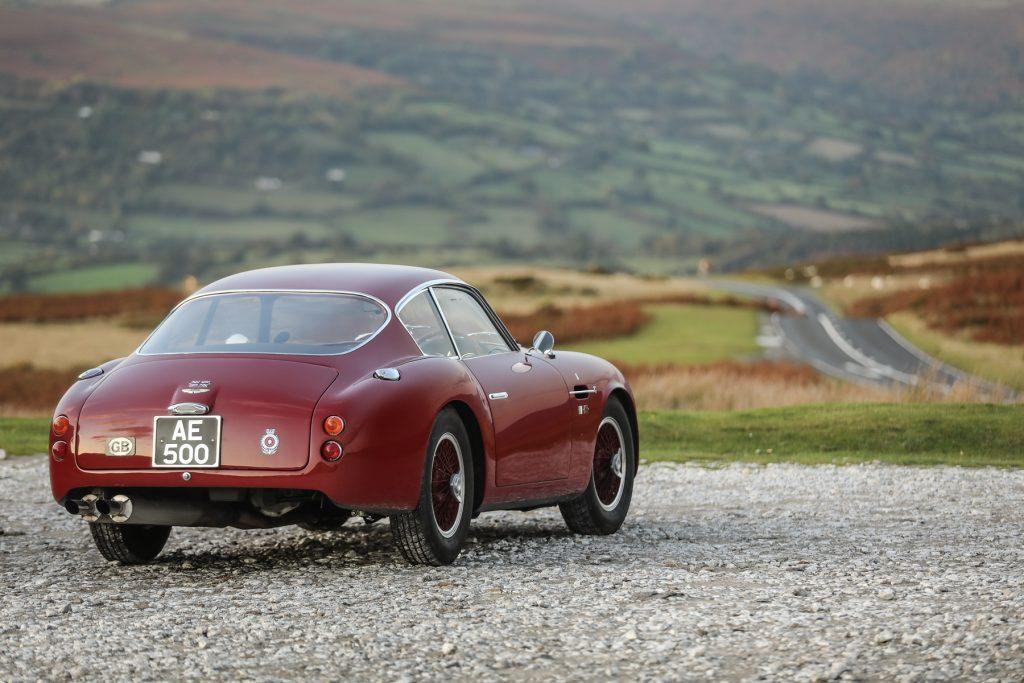 1961 Aston Martin DB4 GT Zagato being sold by Hubert Fabri