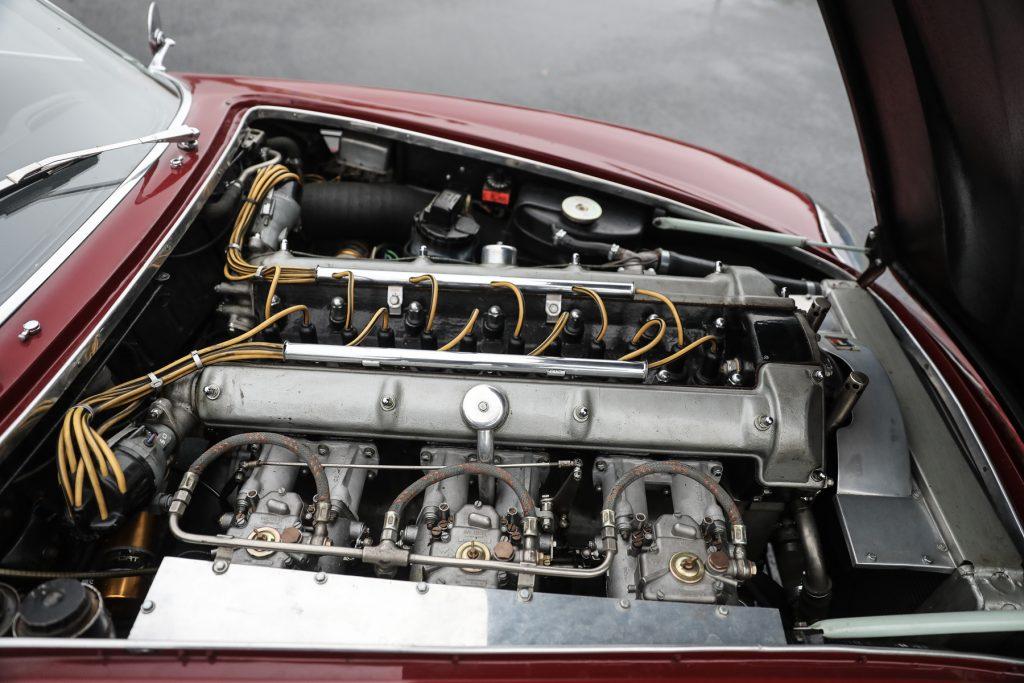 1961 Aston Martin DB4 GT Zagato straight-six engine