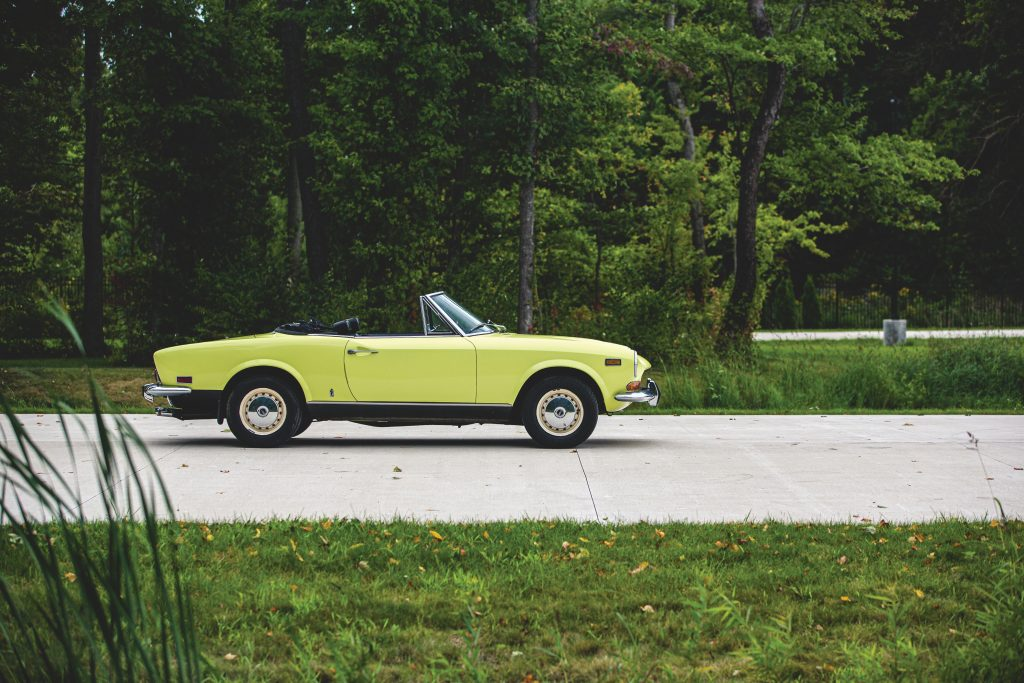 Fiat 124 Sport Spider is a wise buy as a first-time classic roadster_Hagerty