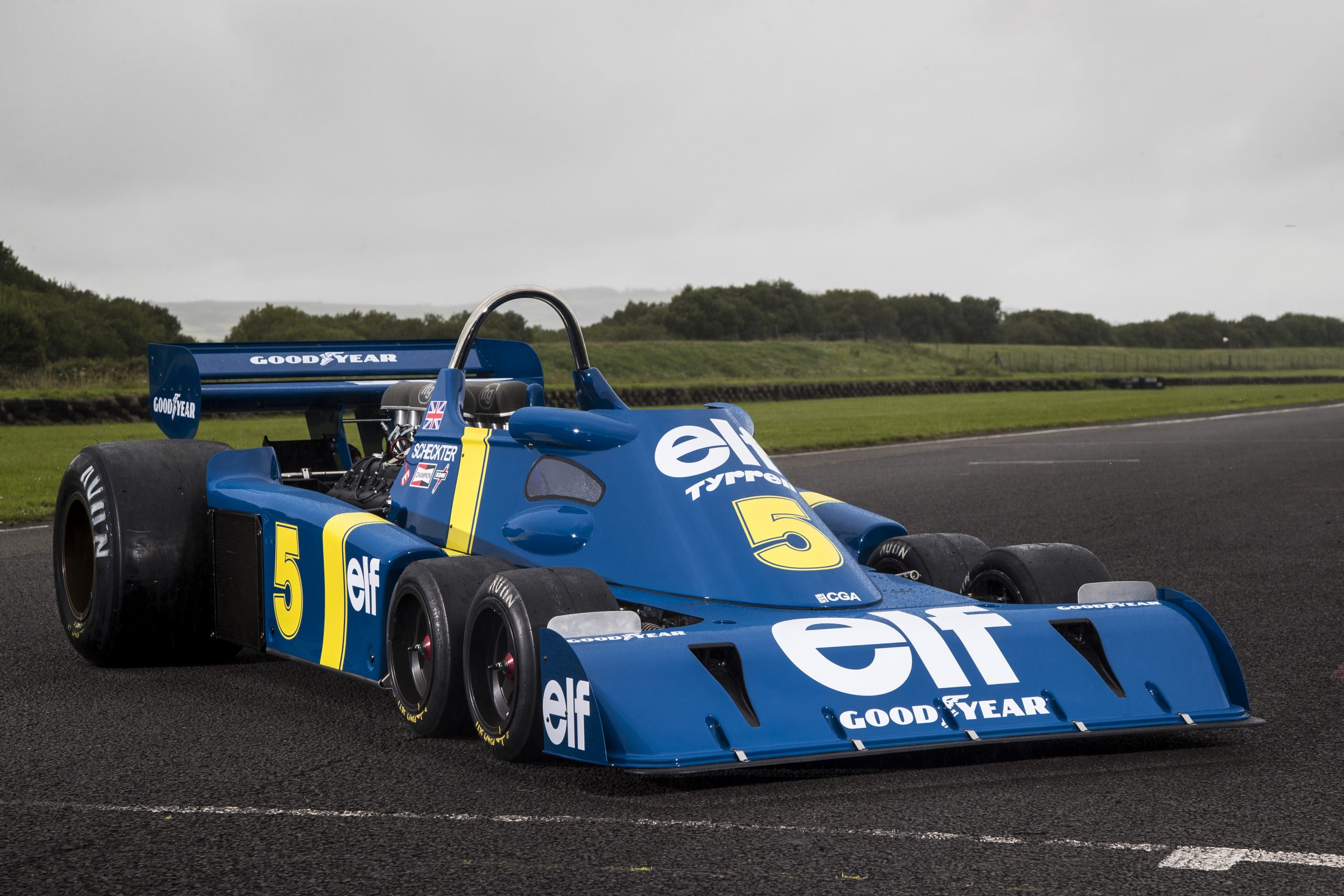 The epic challenge of building a Tyrrell P34 six-wheel F1 continuation car