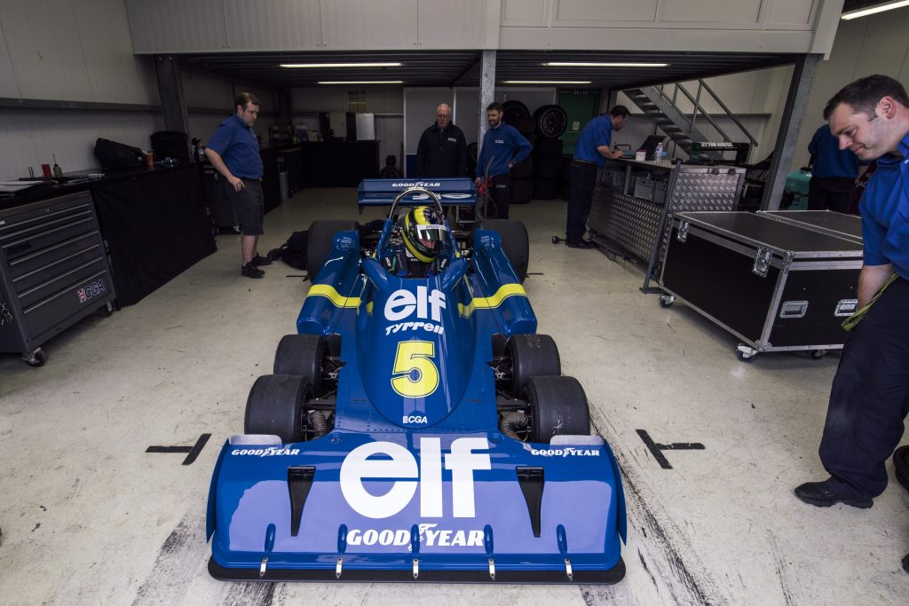 The epic challenge of building a continuation Tyrell P34 six-wheel F1 car