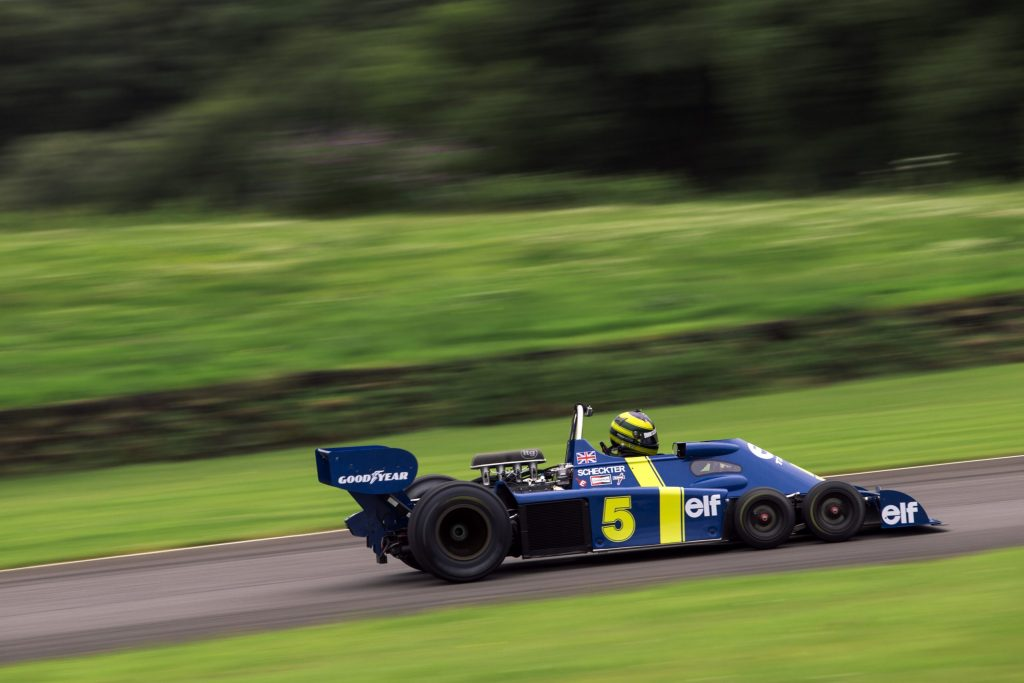 The epic challenge of building a continuation Tyrell P34 six-wheel F1 car_Hagerty