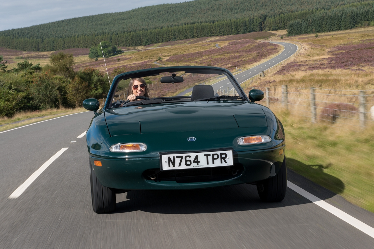 Roof down, values up: a classic roadster will put the wind in your hair but won't blow money down the drain