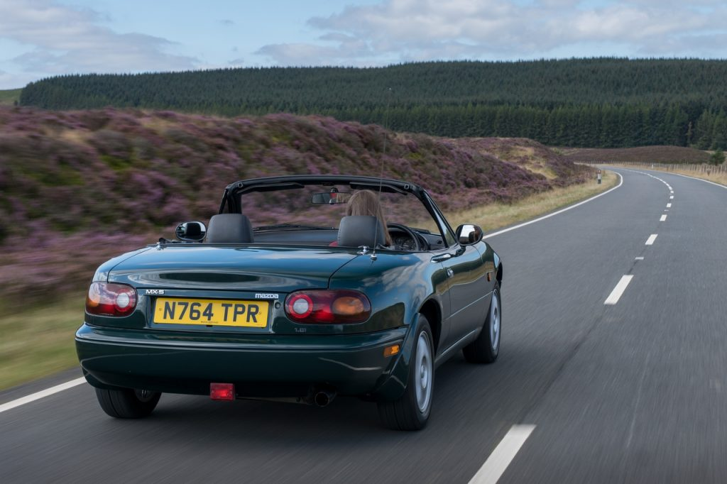 Lose yourself on a great road in a first generation Mazda MX-5