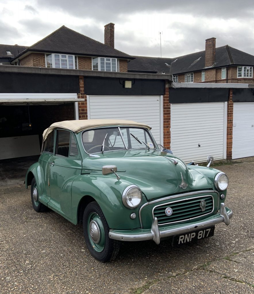 Bernie-Tom Cotter saves a Morris Minor convertible_Barn Find Hunter