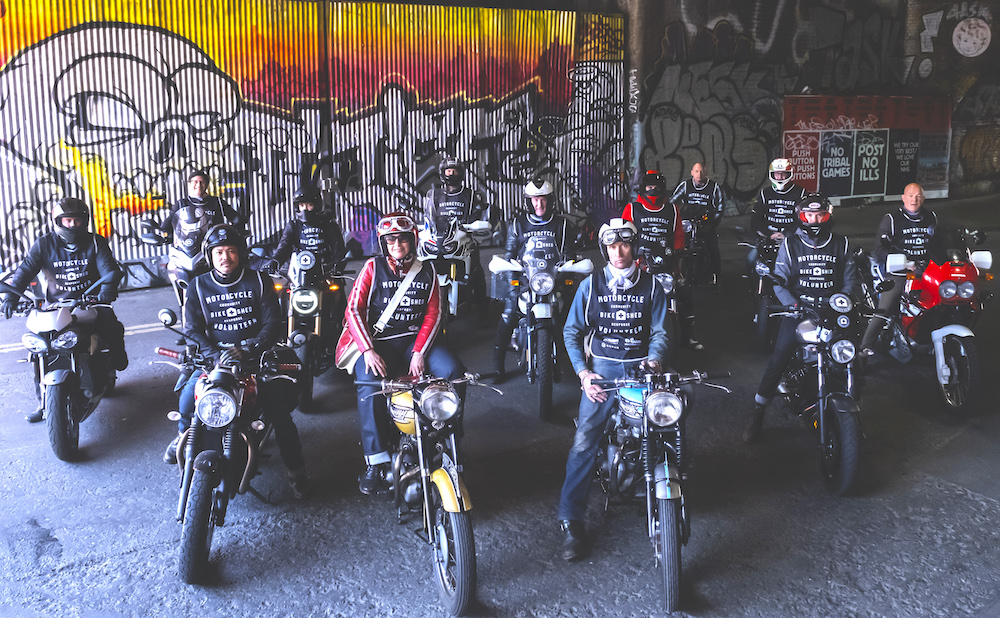We can be heroes: meet the classic bikers riding to the rescue during the pandemic