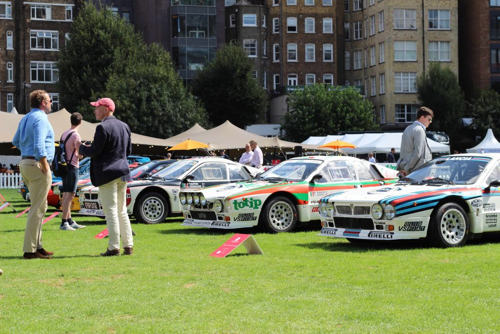 Lancia 037s in the 'Lancia Legends' class